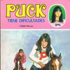 Libros: PUCK TIENE DIFICULTADES LISBETH WERNER. Lote 293827398