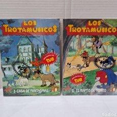 Libros: LOS TROTAMÚSICOS. ANAYA. LOTE DE 2 CUENTOS. NUEVOS. SIN LEER. PRECINTADOS. 1989. 3 - 8.. Lote 293959888