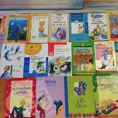 Libros: LIBROS ,LOTE DE 23,ANAYA,SM,ALFAGUARA,SM,ECT,. Lote 294443823