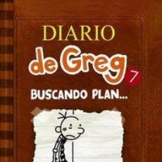 Libros: INFANTIL. JUVENIL. DIARIO DE GREG 7. BUSCANDO PLAN... JEFF KINNEY (CARTONÉ). Lote 45991056