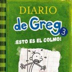 Libros: INFANTIL. JUVENIL. DIARIO DE GREG 3. ¡ESTO ES EL COLMO! - JEFF KINNEY (CARTONÉ). Lote 45991705