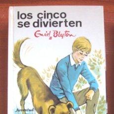 Libros: LIBRO ENYD BLYTON LOS CINCO SE DIVIERTEN NUMERO 33 NUEVO . Lote 47949515