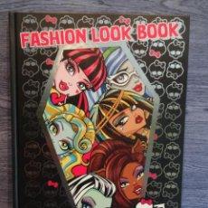 Libros: FASHION LOOK BOOK. MONSTER HIGH. PANINI -2012 - A ESTRENAR.. Lote 48467612