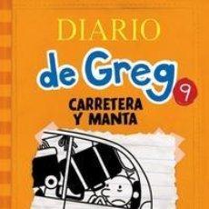 Libros: INFANTIL. JUVENIL. DIARIO DE GREG 9. CARRETERA Y MANTA - JEFF KINNEY (CARTONÉ). Lote 50312242