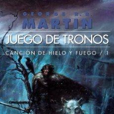 Libros: JUEGO DE TRONOS - CANCIÓN DE HIELO Y FUEGO 1 - TAPA BLANDA. Lote 57322952