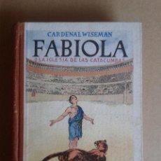 Libros: FABIOLA. Lote 78838101