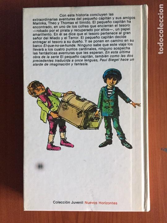 Libros: El pequeño capitán y el tesoro del pirata. Paul Biegel. Planeta/ Juvenil. 1982 - Foto 3 - 90212795