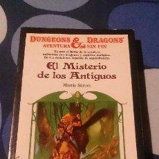 Libros: LIBROJUEGO DUNGEONS & DRAGONS AVENTURA SIN FIN EL MISTERIO DE LOS ANTIGUOS TIMUN MAS 22. Lote 98500383