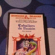 Libros: LIBROJUEGO DUNGEONS & DRAGONS AVENTURA SIN FIN CABALLERO DE ILUSIÓN TIMUN MAS 19. Lote 98501315