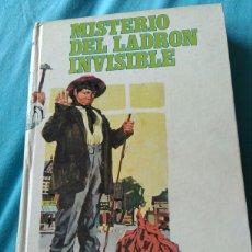 Libros: LIBRO . MISTERIO DEL LADRON INVISIBLE. ENID BYTON. ED MOLINO 1965. Lote 99373502