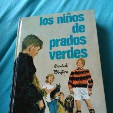 Libros: LIBRO LOS NIÑOS DE PRADOS VERDES. ENID BLYTON. ED MOLINO. 1966. Lote 161704364