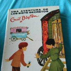 Libros: LIBRO. UNA AVENTURA DE LOS SIETE SECRETOS. ENID. BLYTON. ED. JUVENTUD. 3 ED. 1968. Lote 99375035