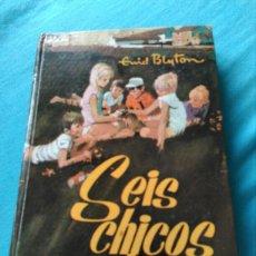 Libros: LIBRO LOS SEIS CHICOS MALOS. ENID BLYTON. ED MOLINO 1967. Lote 99377084