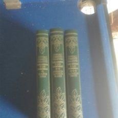 Libros: TRES TOMOS GONZALO TORRENTE BALLESTER. Lote 101217423