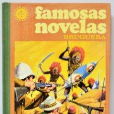 Libros: FAMOSAS NOVELAS TOMO III BRUGERA LIBRO COMIC VINTAGE RETRO. Lote 103148371