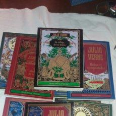 Libros: GRAN LOTE DE 10 LIBROS DE JULIO VERNE NUEVOS. Lote 105424486