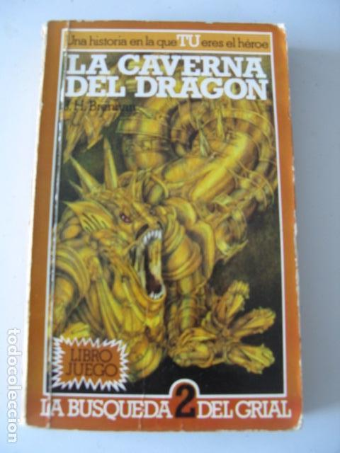 LA CAVERNA DEL DRAGON - LA BUSQUEDA DEL GRIAL 2 - LIBRO JUEGO ALTEA (Libros Nuevos - Literatura Infantil y Juvenil - Literatura Juvenil)