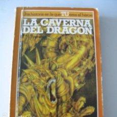 Libros: LA CAVERNA DEL DRAGON - LA BUSQUEDA DEL GRIAL 2 - LIBRO JUEGO ALTEA. Lote 106550523