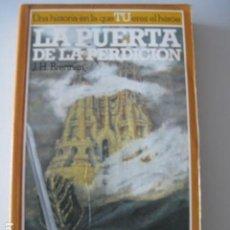 Libros: LA PUERTA DE LA PERDICION - LA BUSQUEDA DEL GRIAL 3 - LIBRO JUEGO ALTEA. Lote 106550599
