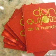 Libros: 6 ESPECTACULARES LIBROS O TOMOS DE DON QUIJOTE DE LA MANCHA TODO ILUSTRADO LEER Y VER FOTOS. Lote 107468811