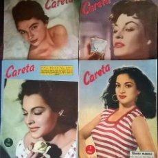 Libros: LOTE DE 4 / REVISTA CARETA LOLA FLORES...ECT. Lote 110887783