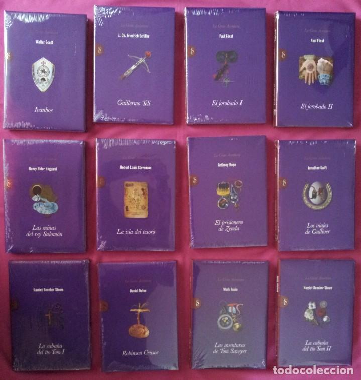 Libros: COLECCION LA GRAN AVENTURA - SIGNO EDITORES 12 TOMOS NUEVOS SIN ABRIR. - Foto 2 - 113431627
