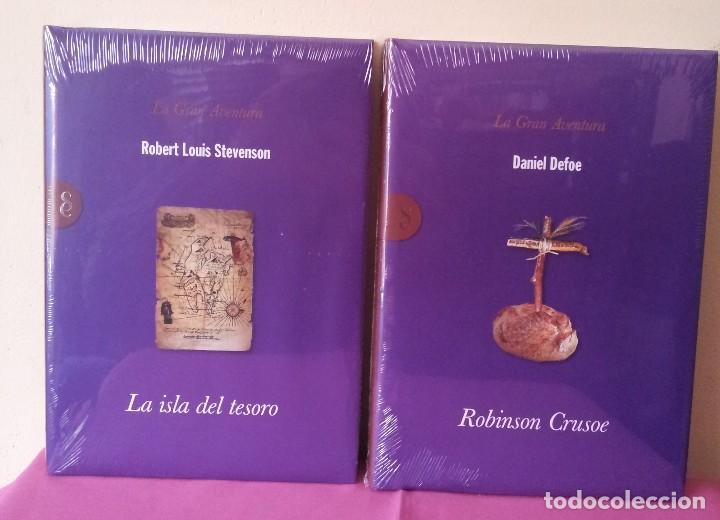 Libros: COLECCION LA GRAN AVENTURA - SIGNO EDITORES 12 TOMOS NUEVOS SIN ABRIR. - Foto 4 - 113431627