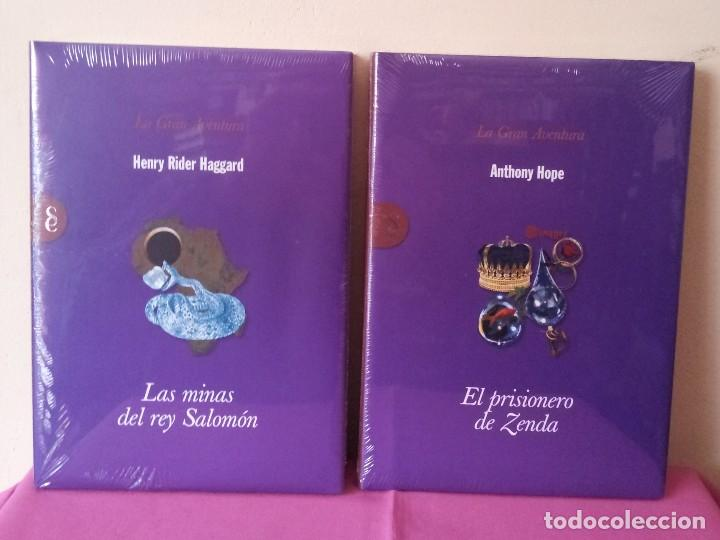 Libros: COLECCION LA GRAN AVENTURA - SIGNO EDITORES 12 TOMOS NUEVOS SIN ABRIR. - Foto 5 - 113431627