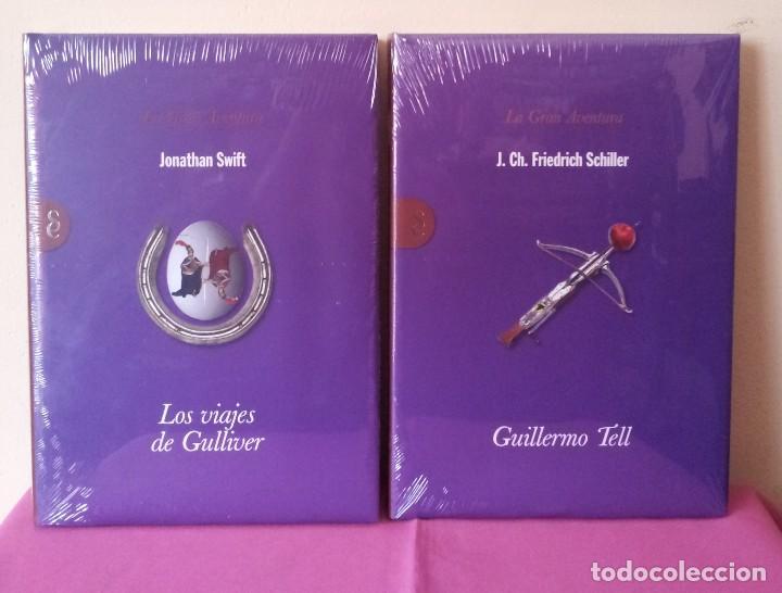 Libros: COLECCION LA GRAN AVENTURA - SIGNO EDITORES 12 TOMOS NUEVOS SIN ABRIR. - Foto 6 - 113431627