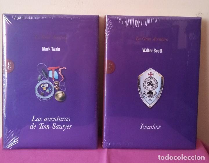 Libros: COLECCION LA GRAN AVENTURA - SIGNO EDITORES 12 TOMOS NUEVOS SIN ABRIR. - Foto 9 - 113431627