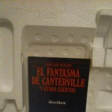Libros: LIBRO EL FANTASMA DE CANTERVILLE Y OTROS CUENTOS. Lote 115252706