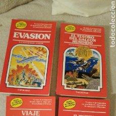 Libros: CUATRO LIBROS DE ELIGE TU PROPIA AVENTURA. Lote 119745590
