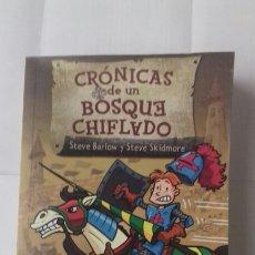 Libros: CRÓNICAS DE UN BOSQUE CHIFLADO. Lote 122242220