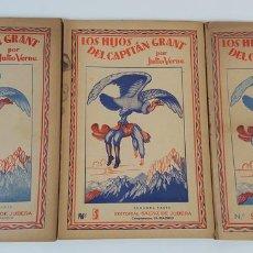 Libros: LOS HIJOS DEL CAPITÁN GRANT. 3 VOLÚMENES. JULIO VERNE. EDIT SÁENZ DE JUBERA. MADRID. 1940.. Lote 123323151