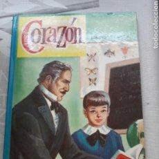 Libros: CORAZÓN NOVELA DE EDMUNDO DE AMICIS DEL AÑO 1962. Lote 124037620