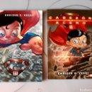 Libros: 2 LIBROS-COMIC CABEZÓN DE ACERO (ARTÍCULO NUEVO). Lote 124290447