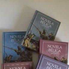 Libros: LOTE 5 LIBROS NOVELA BÉLICA. Lote 127452383