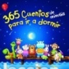 Libros: 365 CUENTOS DE ANIMALES PARA IR A DORMIR YOYO. Lote 92158053