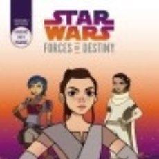 Libros: STAR WARS. FORCES OF DESTINY. AVENTURERAS GALÁCTICAS 1 PLANETA JUNIOR. Lote 103683095