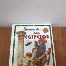Libros: LOS EGIPCIOS (SECRETOS DE.). Lote 131079476