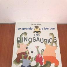 Libros: YO APRENDO A LEER CON LOS DINOSAURIOS. Lote 131131897