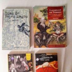 Libros: 18 LIBROS DE LECTURA.. Lote 137139248