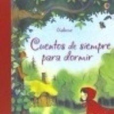 Libros: CUENTOS SIEMPRE DORMIR. Lote 142385506
