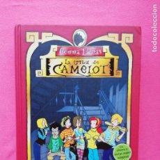 Libros: LIBRO CARLOTA Y EL MISTERIO DEL CANARIO ROBADO DE LA COLECCIÓN LA TRIBU DE CAMELOT. Lote 145228466