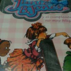 Libros: JUNIE B. JONES NÚMERO 15. Lote 148060396