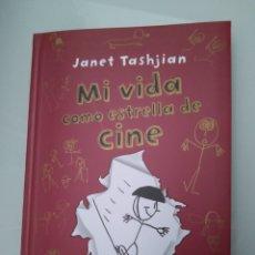Libros: MI VIDA COMO UNA ESTRELLA DE CINE, JANET TASHJIAN. Lote 148466026