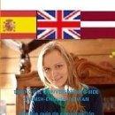 Libros: TRILINGÜE GUÍA DE CONVERSACIÓN ESPAÑOL-INGLÉS-LETÓN. Lote 150040214