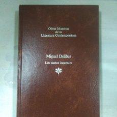 Libros: OBRAS MAESTRAS DE LA LITERATURA CONTEMPORANEA, MIGUEL DELIBES. Lote 156540870