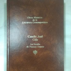 Libros: OBRAS MAESTRAS DE LA LITERATURA CONTEMPORANEA, CAMILO JOSÉ CELA. Lote 156541150