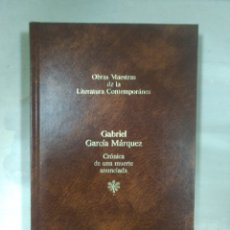 Libros: OBRAS DE LA LITERATURA CONTEMPORANEA, GABRIEL GARCÍA MÁRQUEZ. Lote 156541581
